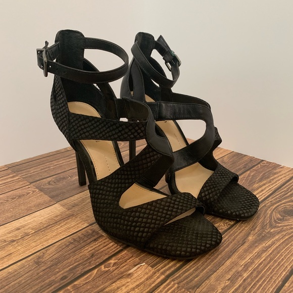 sleek casual shoes picked up Gianni Bini Shoes | Womens Size 7 Black Strappy Heels | Poshmark